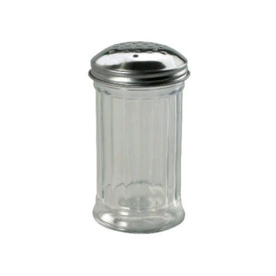 CHEF INOX GLASS CHEESE SHAKER 355ML