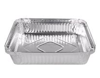CONTAINER FOIL SQUARE CATERING 224X224 200CTN