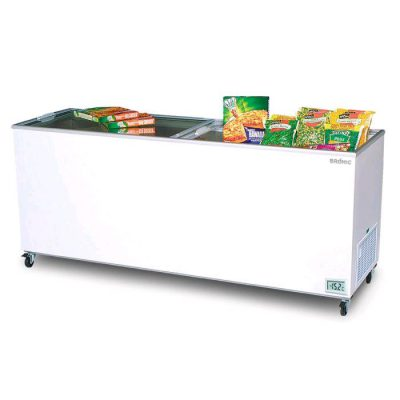 BROMIC GLASS TOP CHEST DISPLAY FREEZER CF0700FTFG