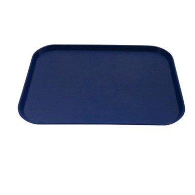 TRAY PLASTIC 40cm x 30cm BLUE