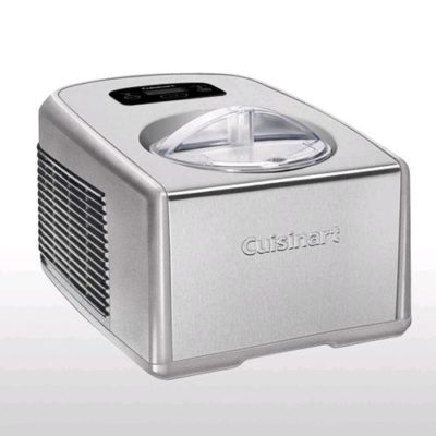 CUISINART ICECREAM MAKER W/ Comp SS