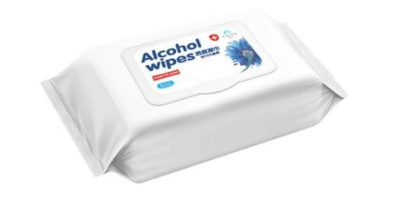 ALCOHOL WIPES 75% (210x147mm Pack of 50pcs)