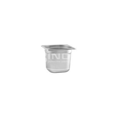 GASTRONORM PAN S/S 1/6 176X162X150