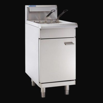 LUUS PROFESSIONAL V-PAN FRYER 2 baskets