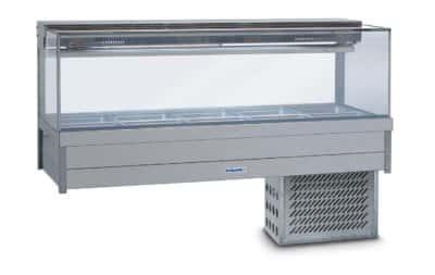Roband Square Cold Bar 10 pans (SRx25RD)