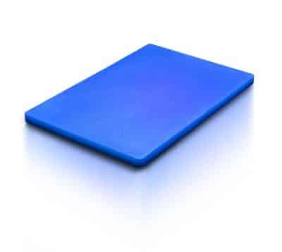 CUTTING BOARD BLUE  300X450X12mm
