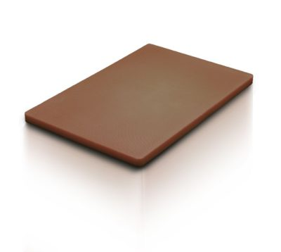 CUTTING BOARD BROWN 530x325x20mm 1/1 GN SIZE