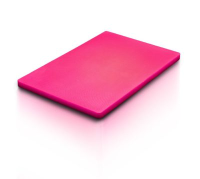 CUTTING BOARD RED 530x325x20mm 1/1 GN SIZE