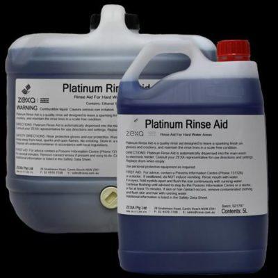 ZEXA Platinum Rinse Aid Fast Dry 15L