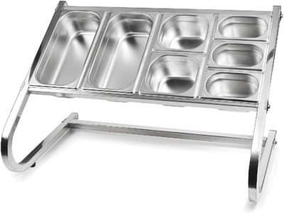 LACOR GN PAN PREP STAND SINGLE (excluding pans)